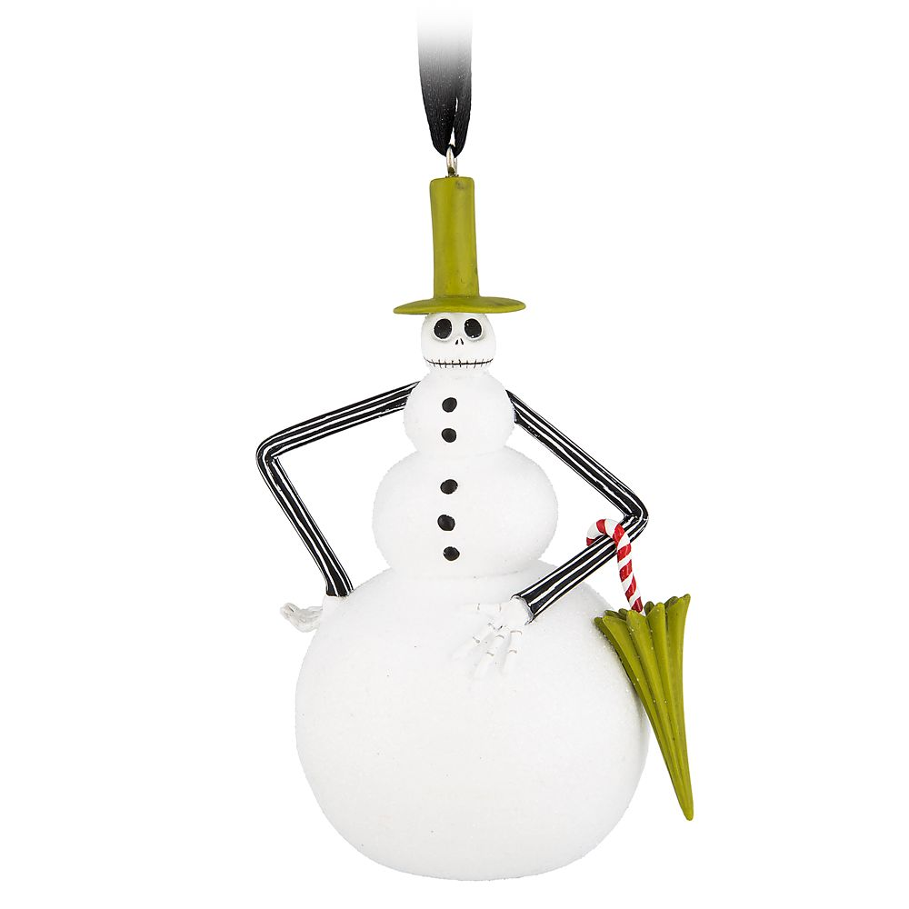Jack Skellington as Snowman Ornament – Nightmare Before Christmas
