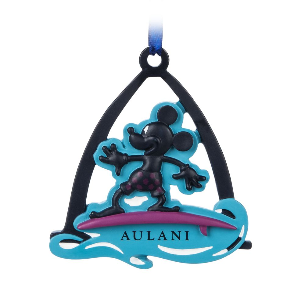 Mickey Mouse Ornament – Aulani, A Disney Resort & Spa