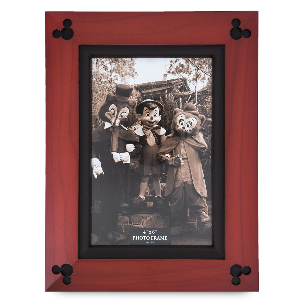 Mickey Mouse Icon Wood Photo Frame – 4'' x 6''