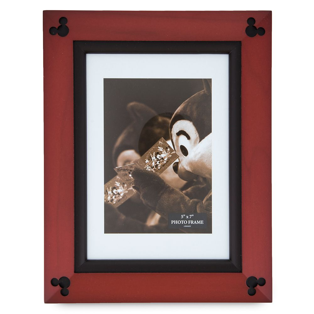 Mickey Mouse Icon Wood Photo Frame – 5'' x 7''