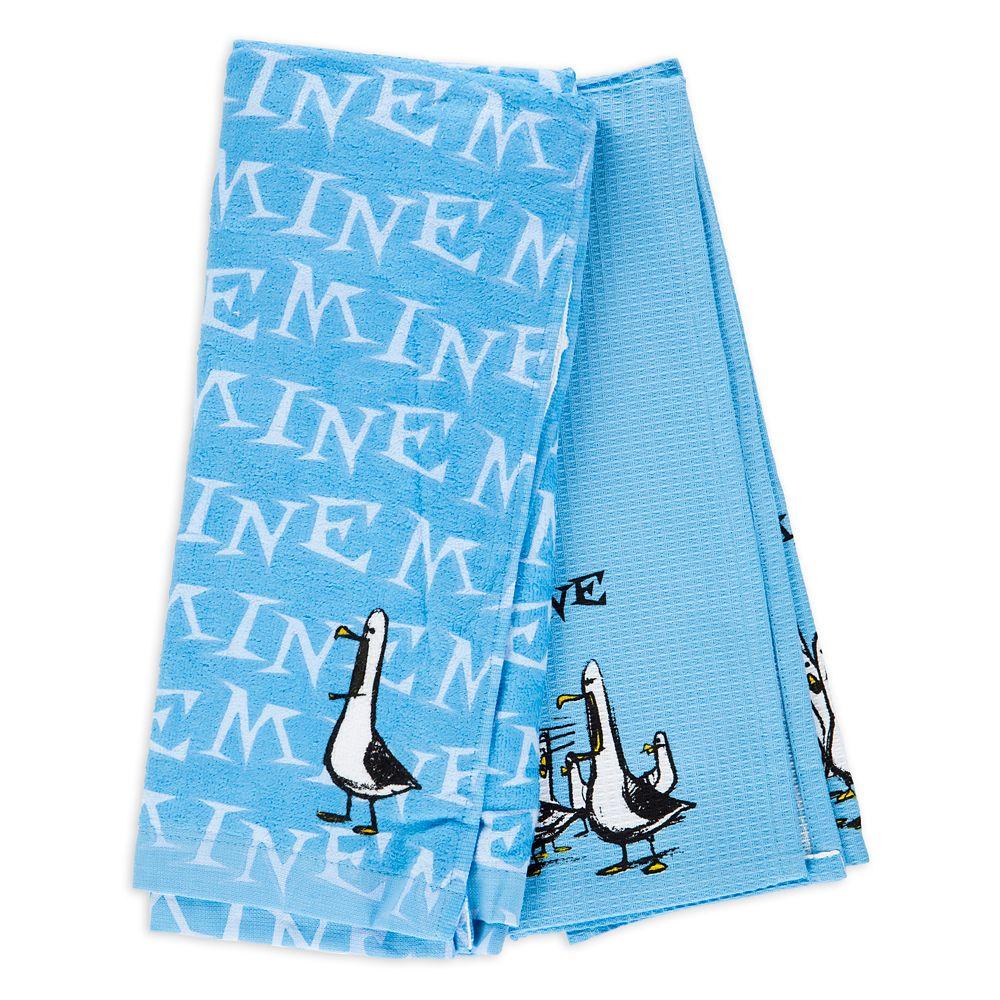 Finding Nemo Seagulls ''Mine Mine Mine Mine'' Kitchen Towel Set