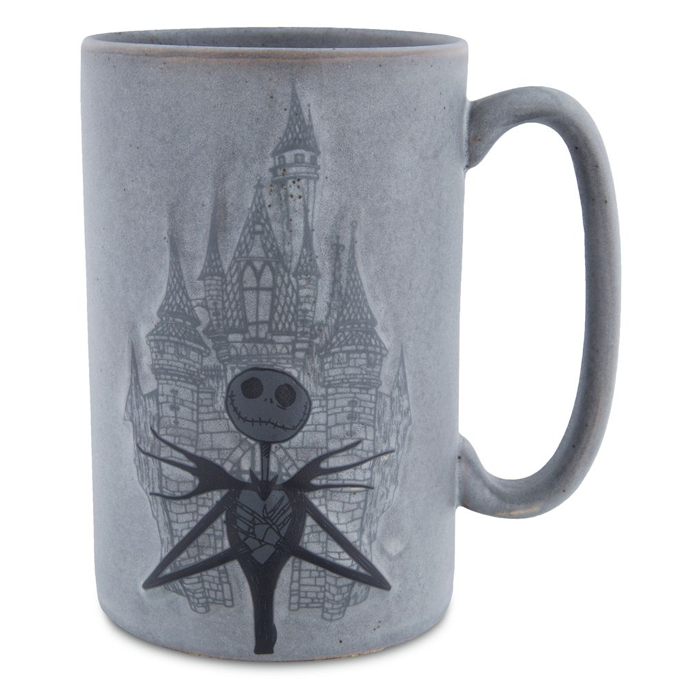 Jack Skellington with Castle Mug
