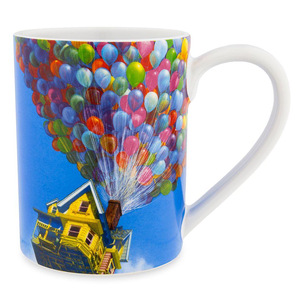 Carl Fredricksen House with Balloons Mug – Up