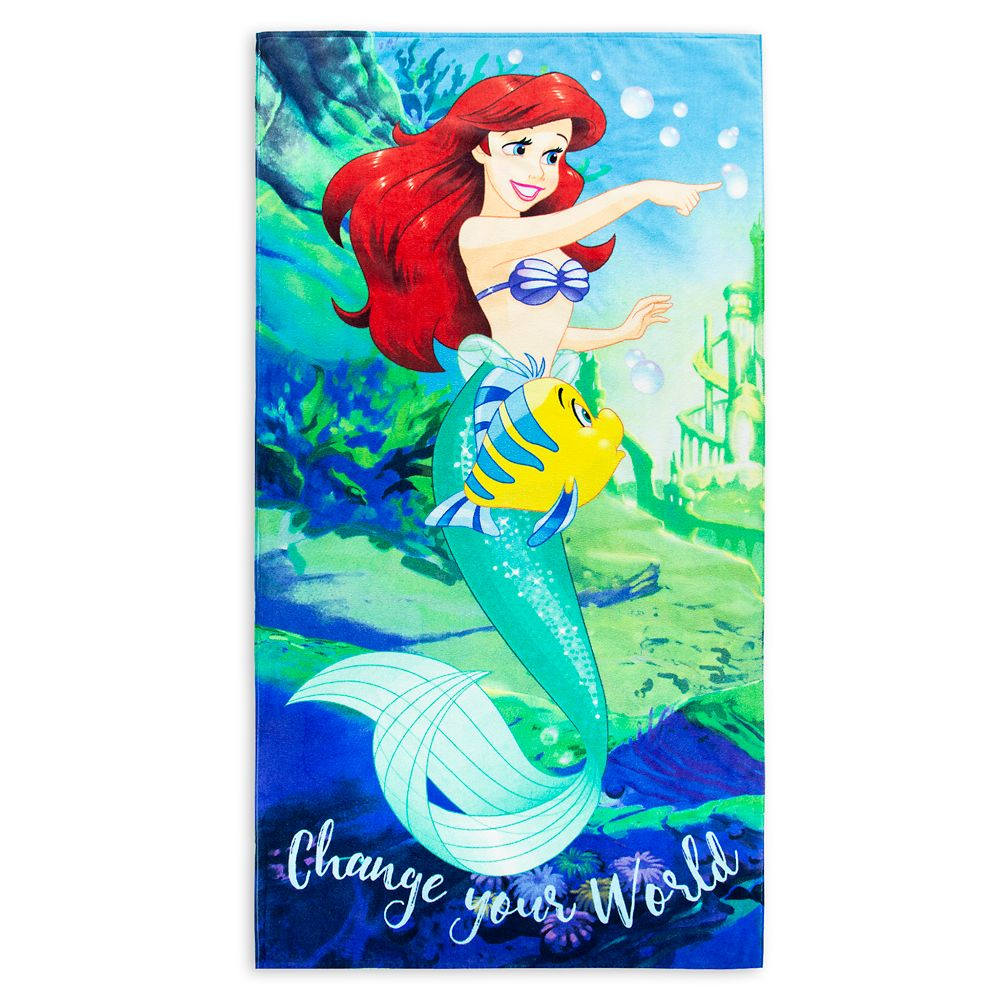 Ariel Beach Towel