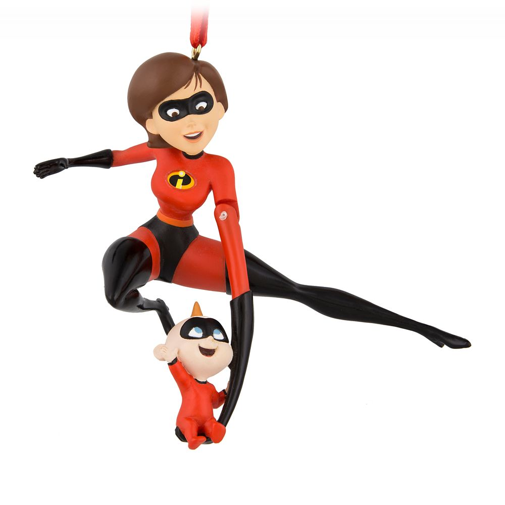 Mrs. Incredible and Jack-Jack Figural Ornament – Incredibles 2