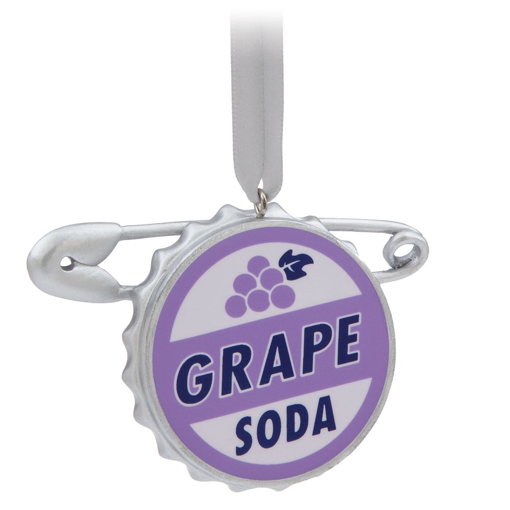 Grape Soda Bottlecap Ornament – Up