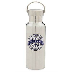 Disney Fantasy Stainless Steel Drink Bottle - Disney Cruise Line