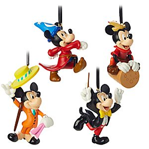 Mickey Mouse Through the Years Mini Ornament Set 2