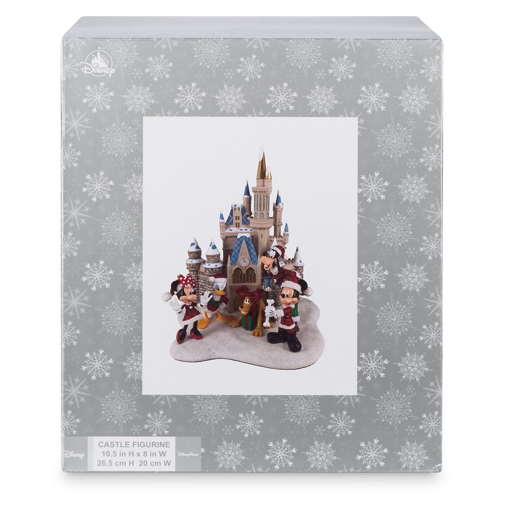Mickey Mouse and Friends at Cinderella Castle Holiday Figure – Walt Disney World