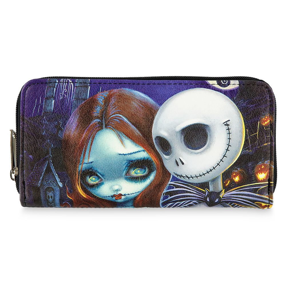 tim burton disney nightmare before Christmas jack skellington Womens Wallet