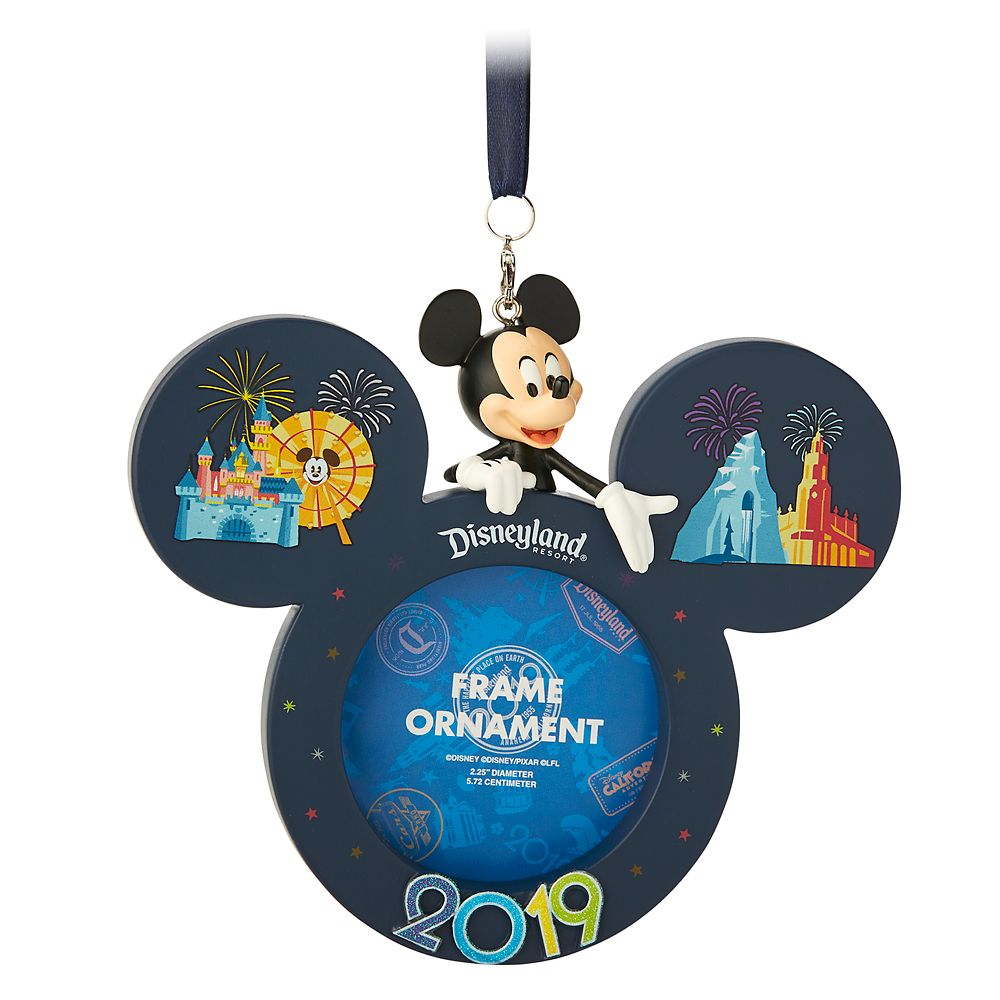 Mickey Mouse Frame Ornament – Disneyland 2019