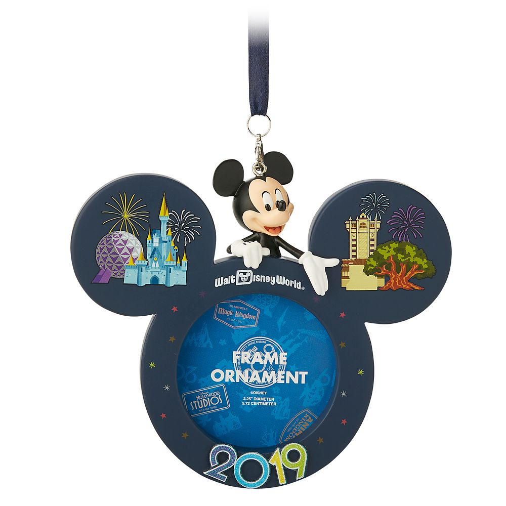 Mickey Mouse Frame Ornament  Walt Disney World 2019