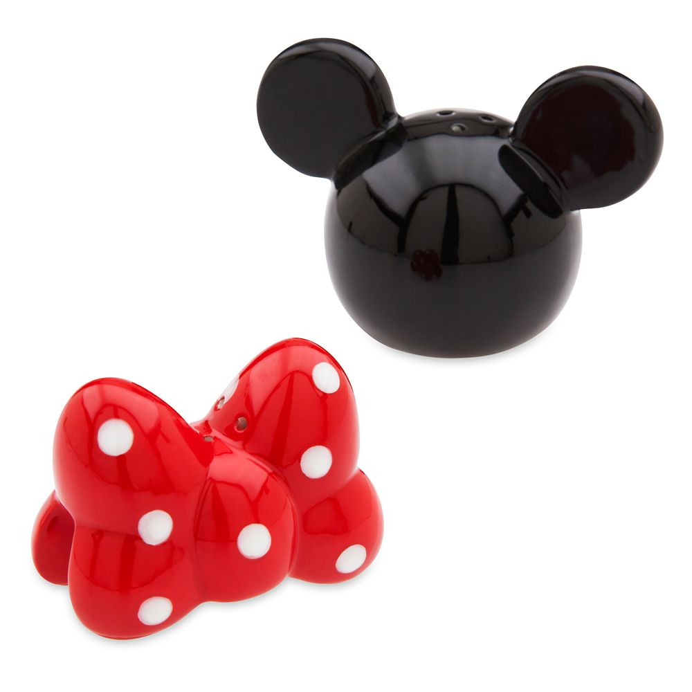 Minnie Mouse Stackable Salt and Pepper Set