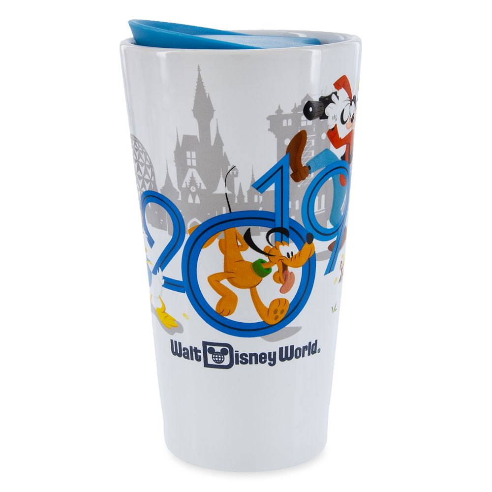 Mickey Mouse and Friends Travel Tumbler  Walt Disney World 2019