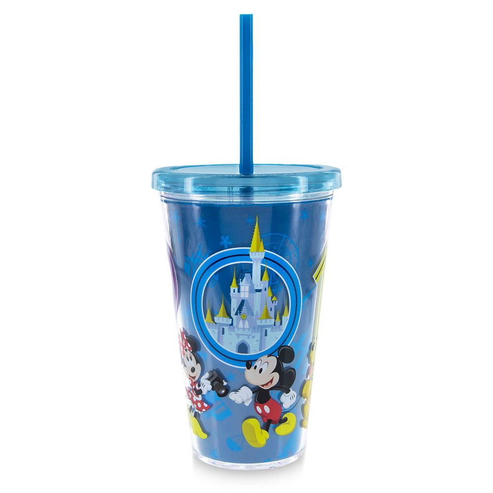 Mickey Mouse and Friends Tumbler with Straw – Walt Disney World 2019