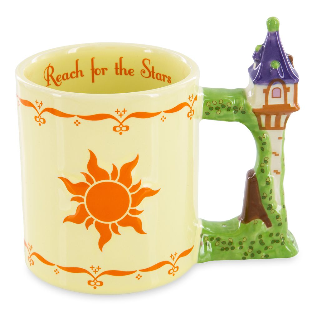 Rapunzel Luminaria Mug