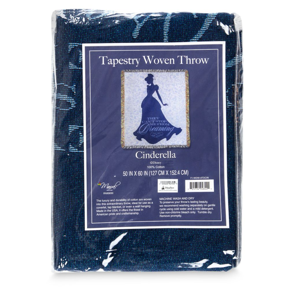 Cinderella Tapestry Woven Throw