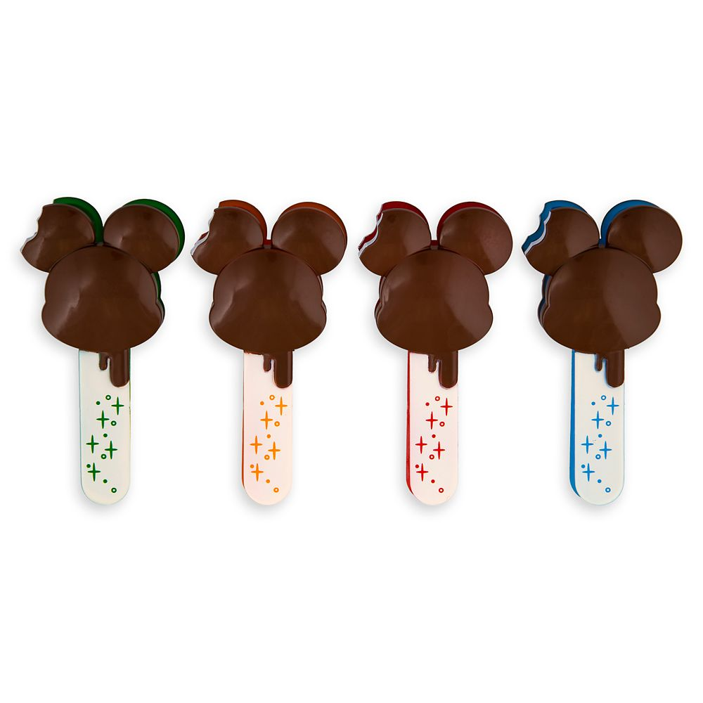 Mickey Mouse Ice Cream Bar Food Bag Clips