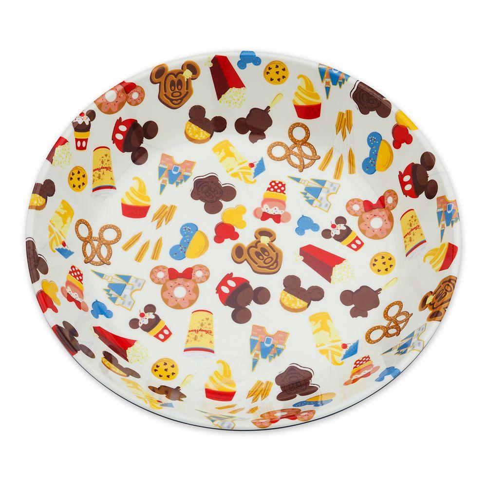Disney Parks Food Icons Serving Bowl