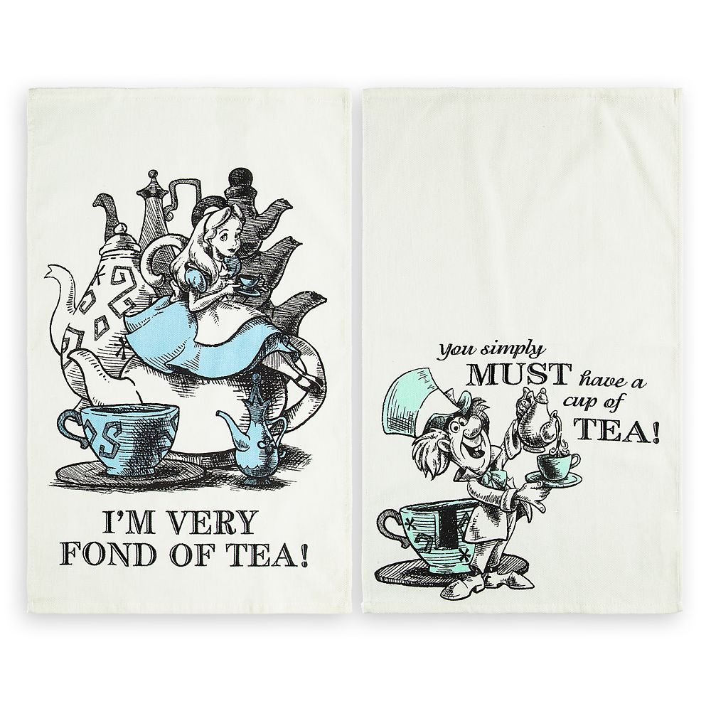 Alice In Wonderland Kitchen Towel Set