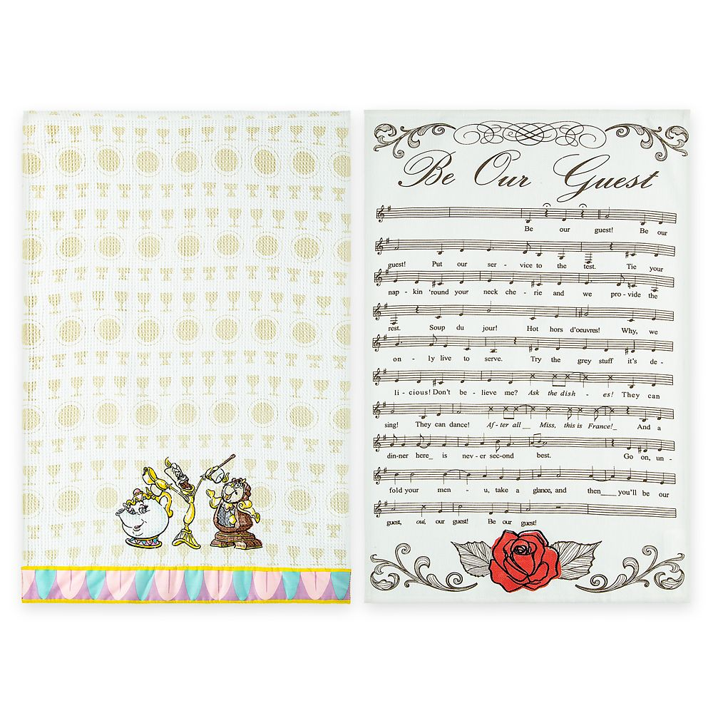Be Our Guest Kitchen Towel Set