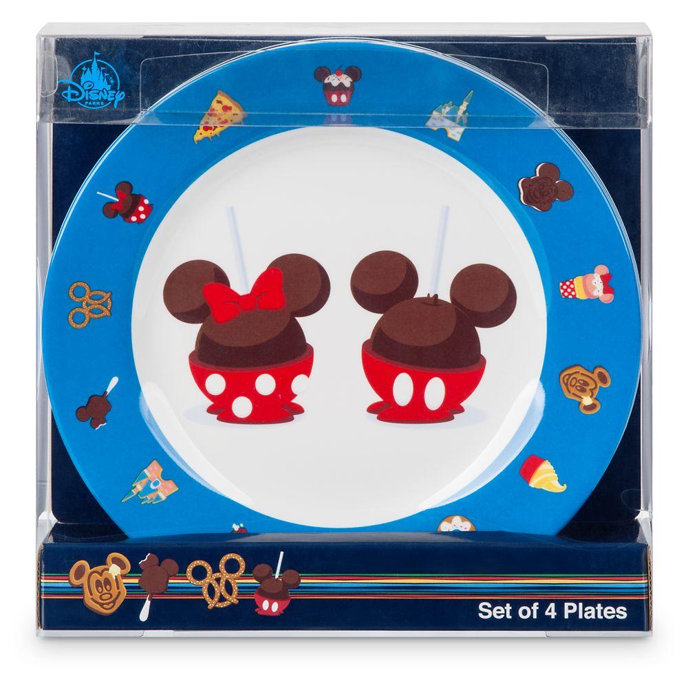 Disney Parks Food Icons Plate Set