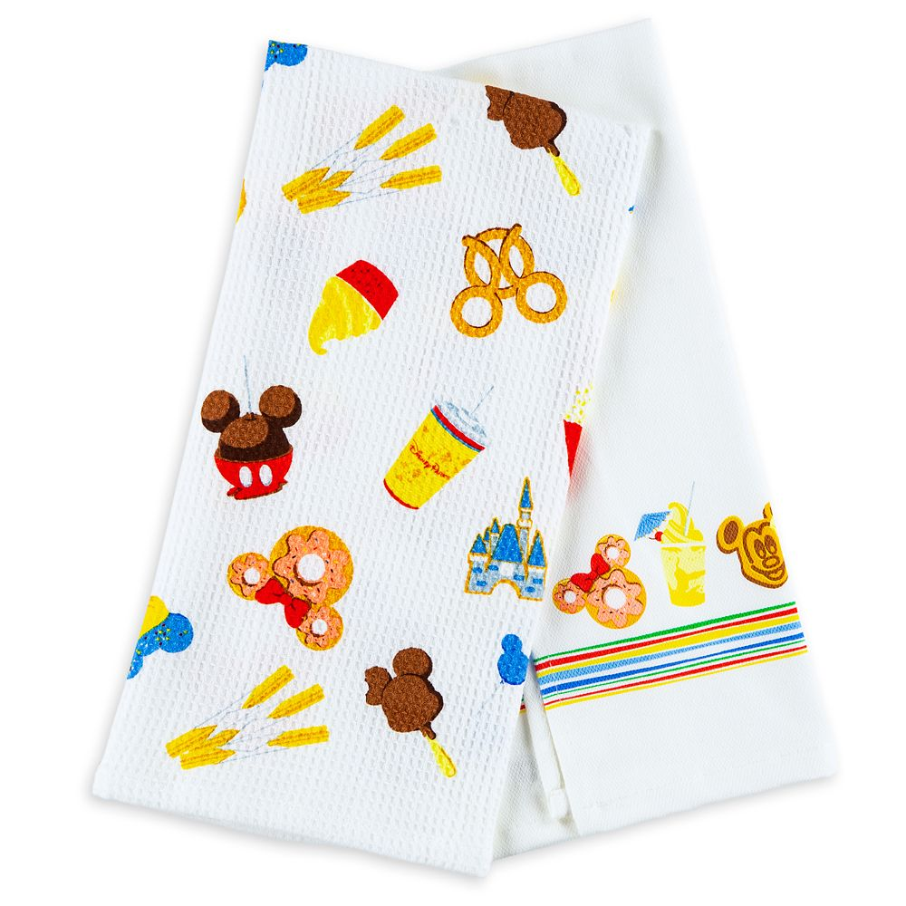 Disney Parks Food Icons Kitchen Towel Set