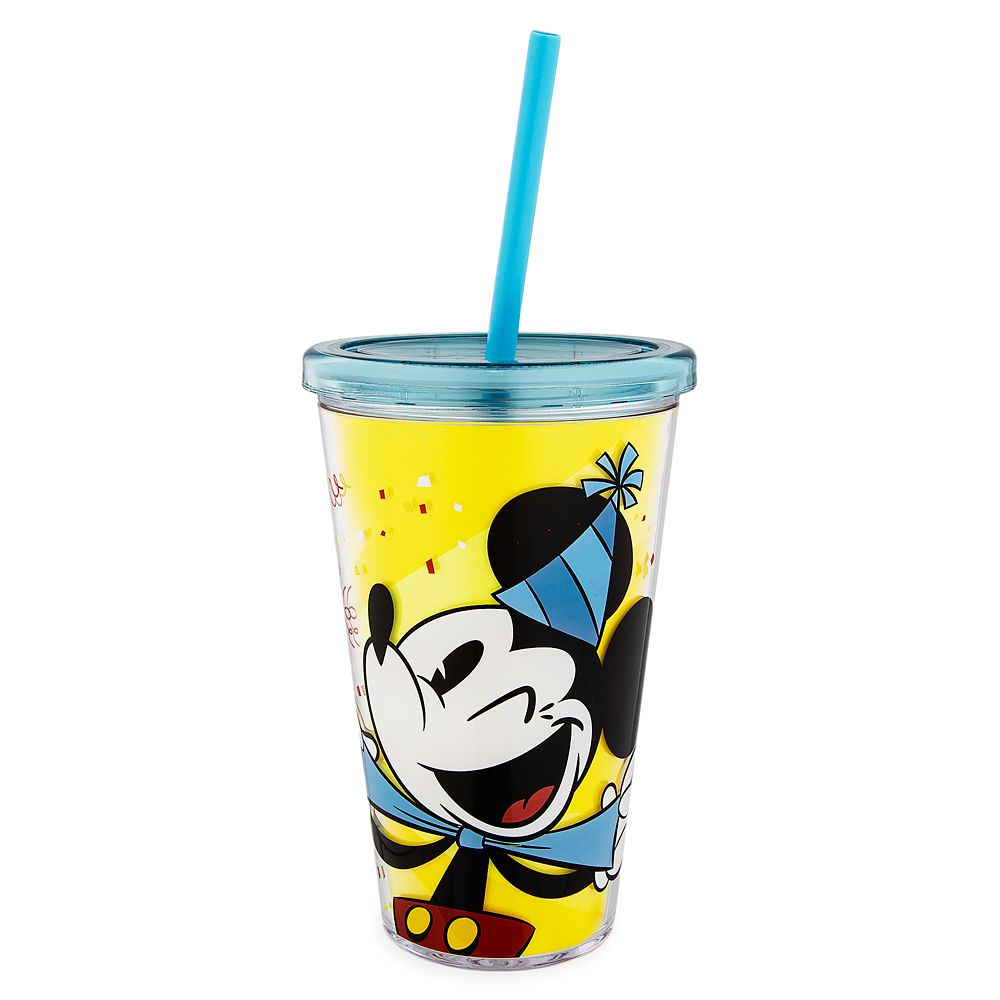 Mickey Mouse ''Celebrate'' Tumbler with Straw
