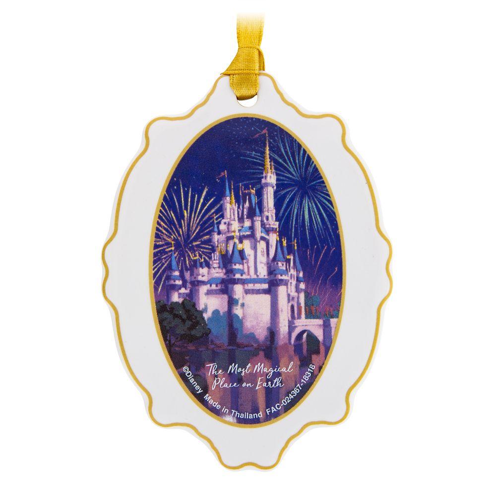 Cinderella Castle Medallion Ornament – Walt Disney World