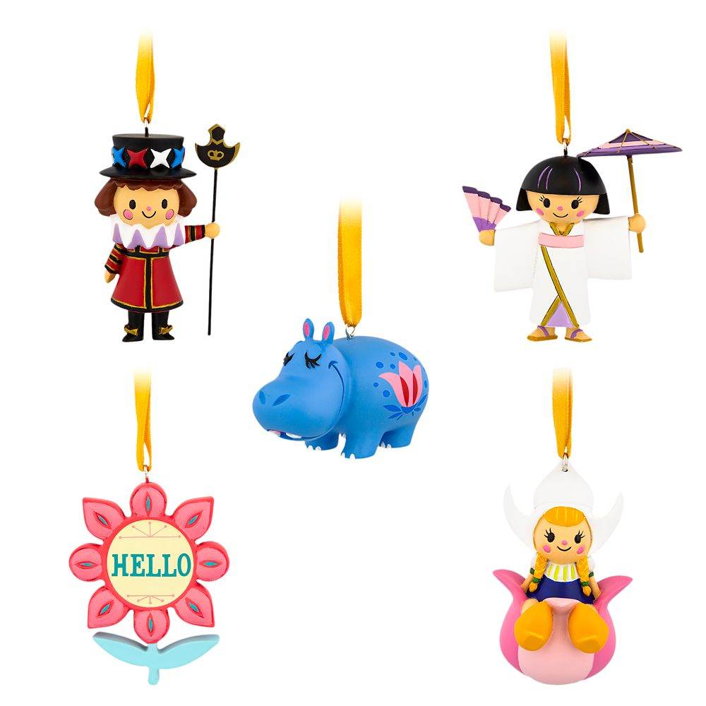 Disney it's a small world Ornament Set