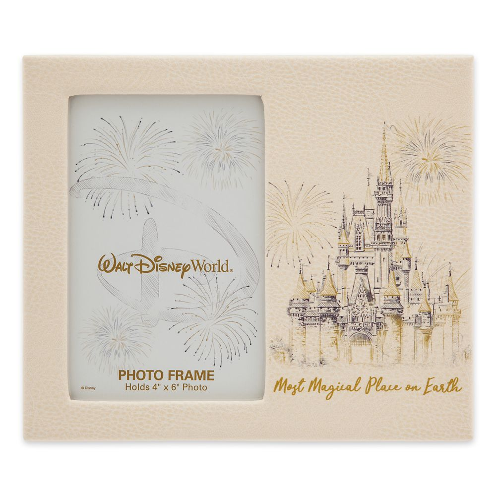 Walt Disney World Faux Leather Photo Frame – 4'' x 6''