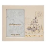 Walt Disney World Faux Leather Photo Frame – 4'' x 6''