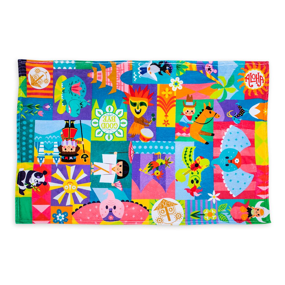 Disney it's a small world Fleece Throw