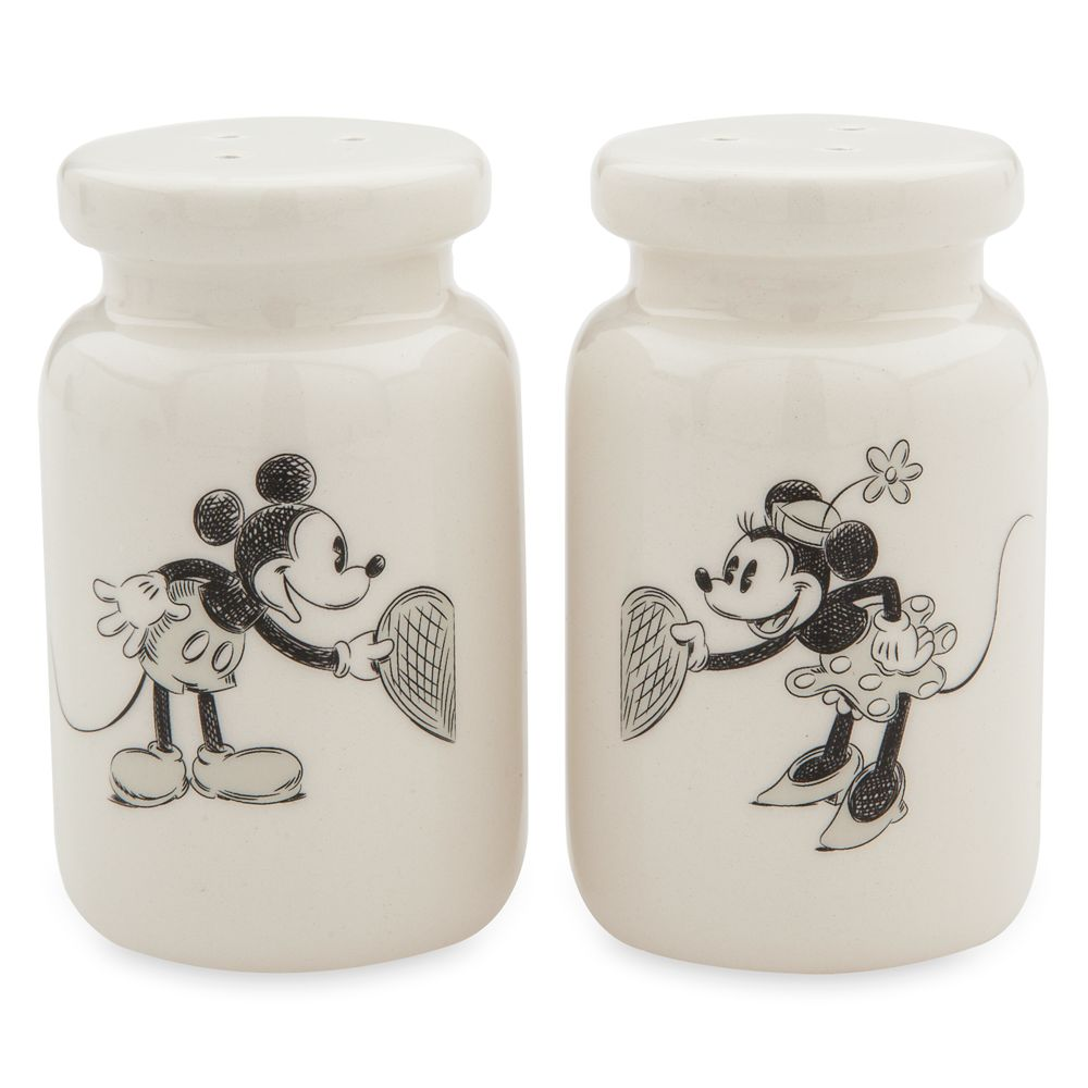 Mickey and Minnie Mouse Classic Salt and Pepper Set Official shopDisney