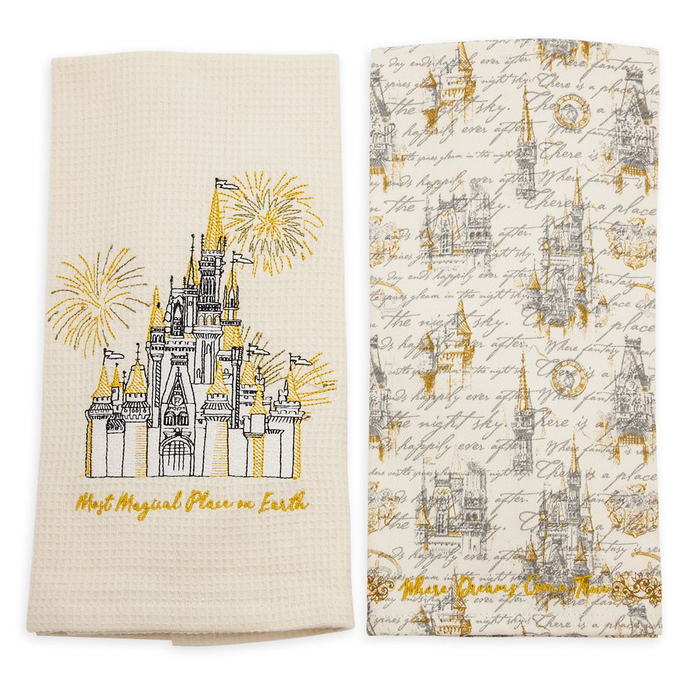 Fantasyland Castle Dish Towel Set – Walt Disney World