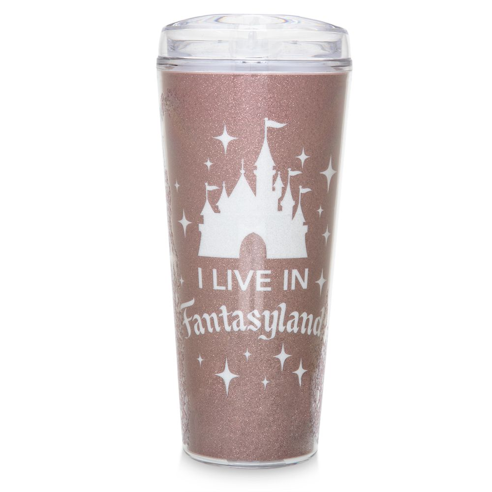 Fantasyland Castle Travel Tumbler – Briar Rose Gold