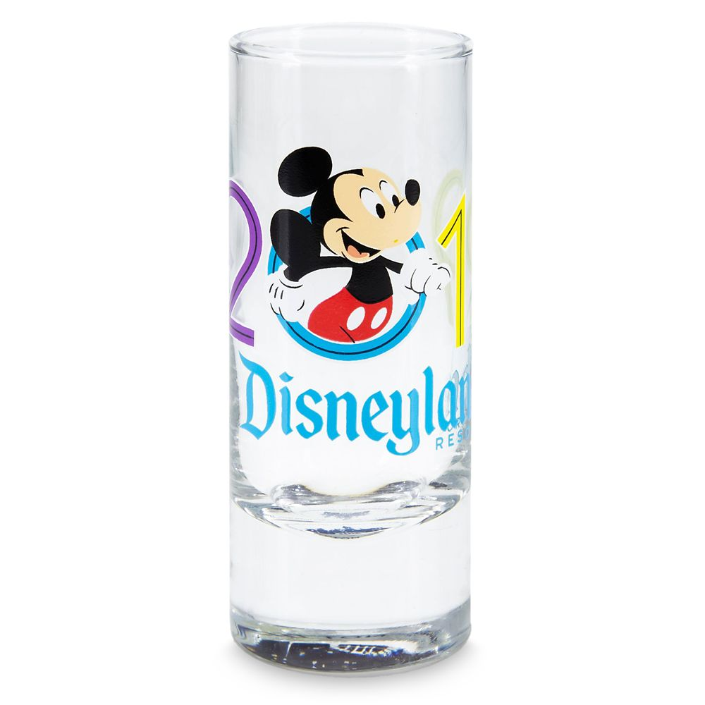 Mickey Mouse Mini Glass – Disneyland 2019