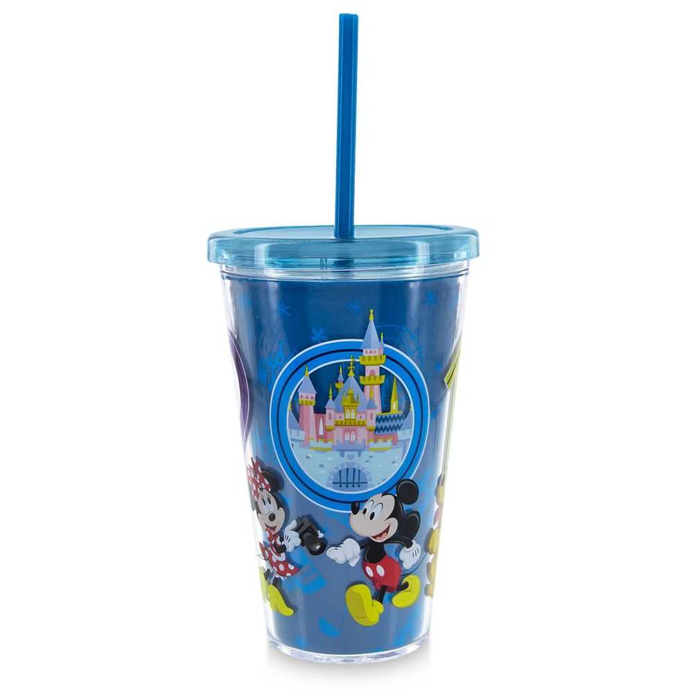 Mickey Mouse and Friends Tumbler with Straw – Disneyland 2019