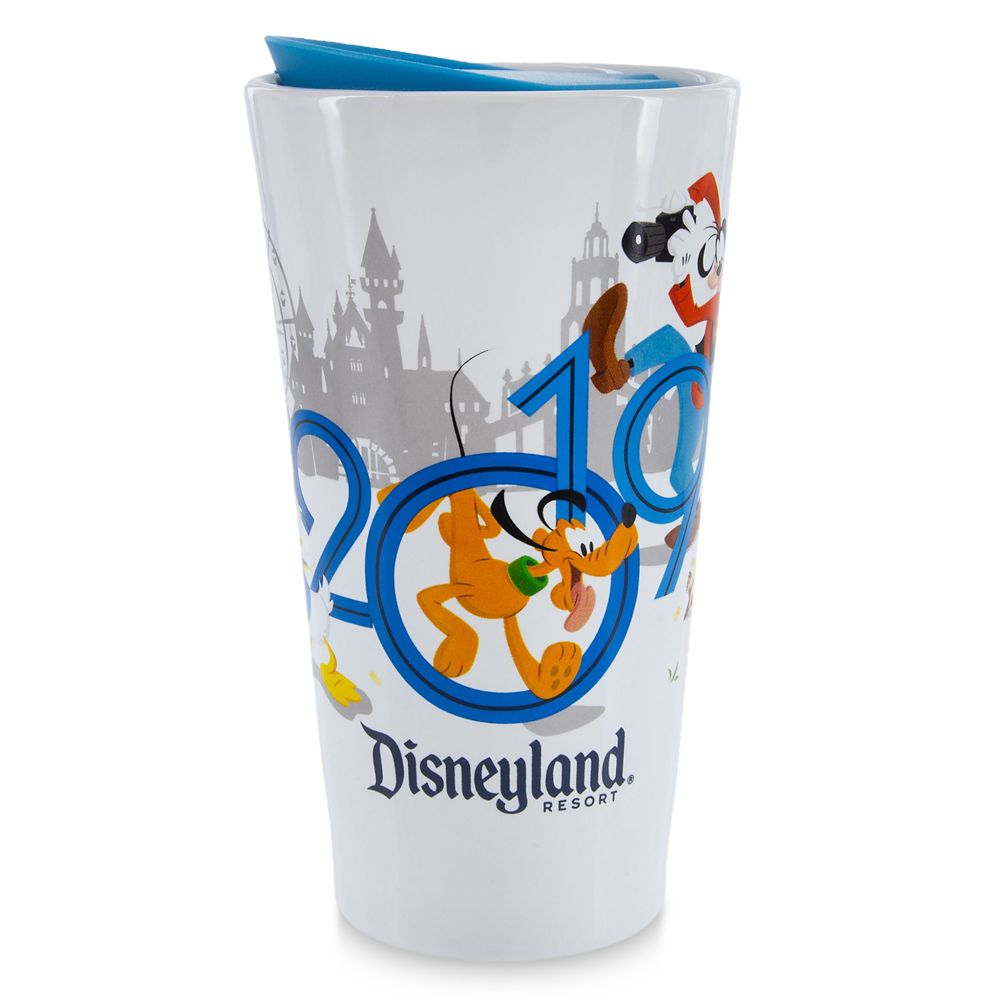 Mickey Mouse and Friends Travel Tumbler  Disneyland 2019