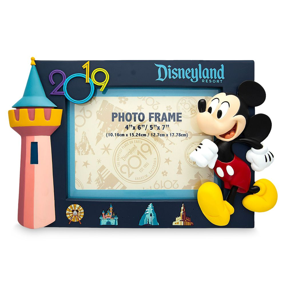 Mickey Mouse Photo Frame – Disneyland 2019
