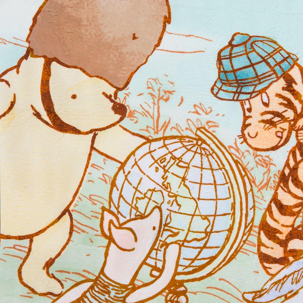 bassket.com Disney Winnie The Pooh Polar Fleece Large Winter Blanket for Kids 50 x 38 Inches 2019