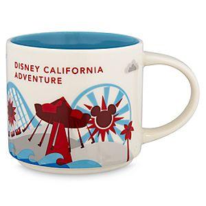 Disney California Adventure Starbucks YOU ARE HERE Mug