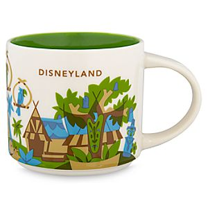 Disneyland Starbucks YOU ARE HERE Mug