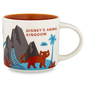 Disney's Animal Kingdom Starbucks YOU ARE HERE Mug