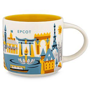 Epcot Starbucks YOU ARE HERE Mug