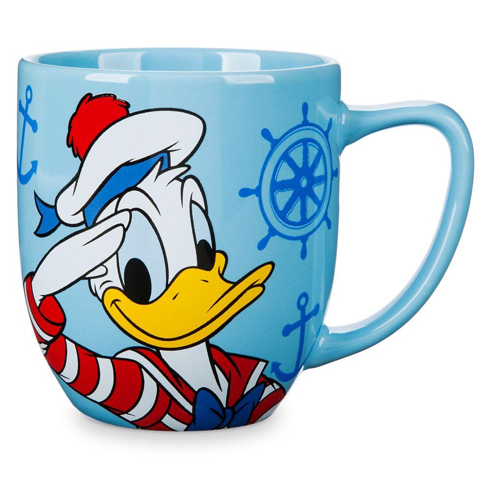 Donald Duck Disney Cruise Line Mug