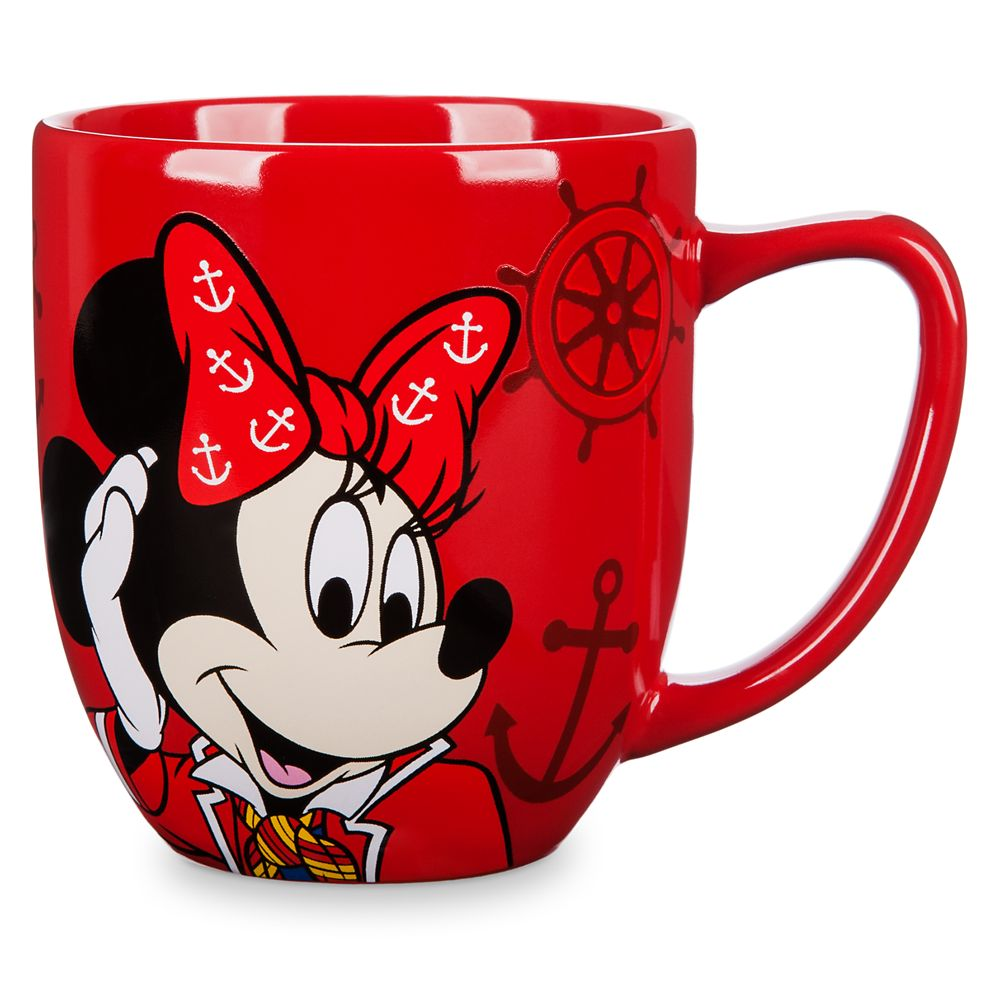 Minnie Mouse Disney Cruise Line Mug