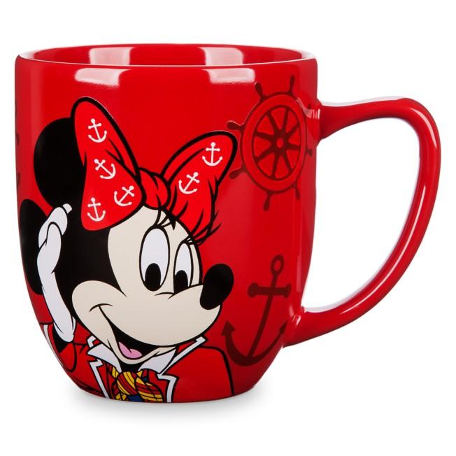 Minnie Mouse Disney Cruise Line Mug