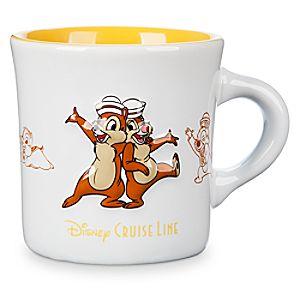 Chip 'n Dale Diner Mug - Disney Cruise Line