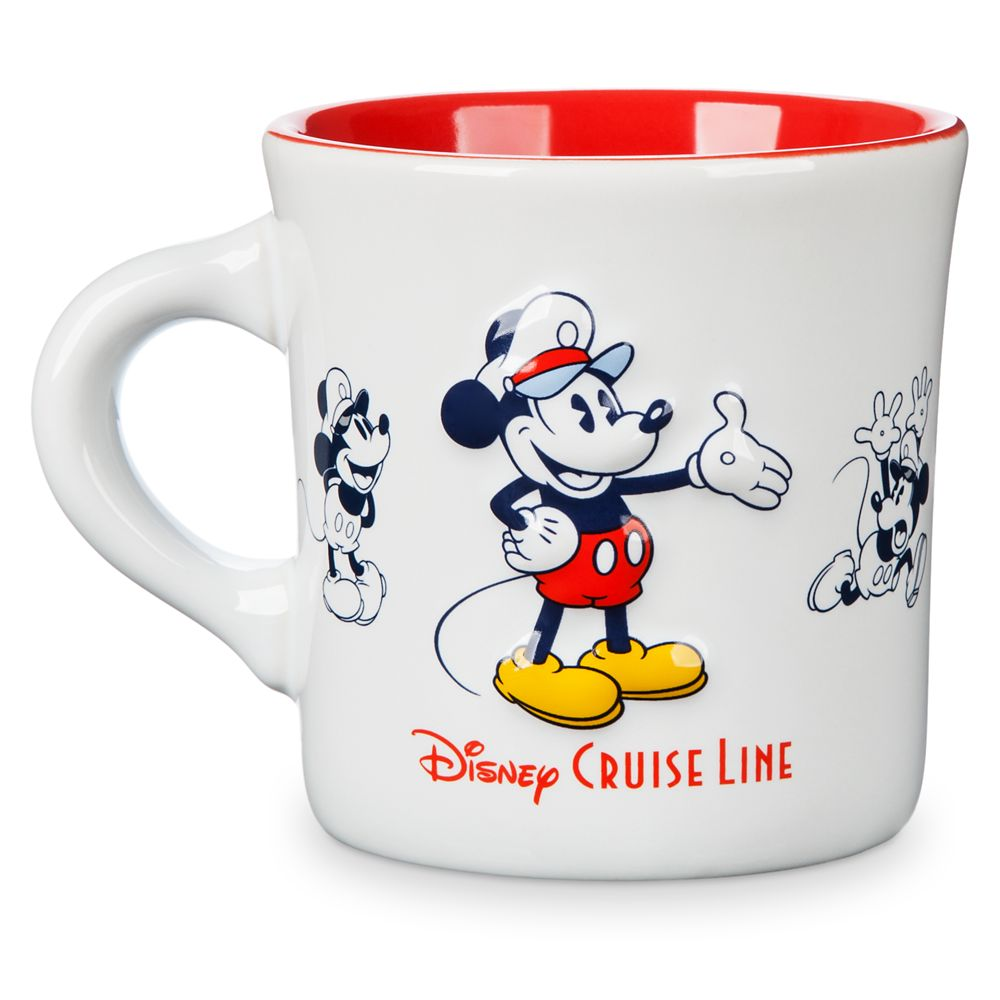 Mickey Mouse Diner Mug – Disney Cruise Line